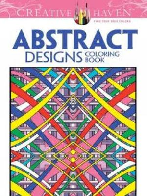 Picture of Creative Haven Abstract Designs Coloring Book
