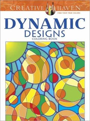 Picture of Creative Haven Dynamic Designs Coloring Book