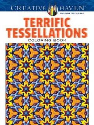 Picture of Creative Haven Terrific Tessellations Coloring Book