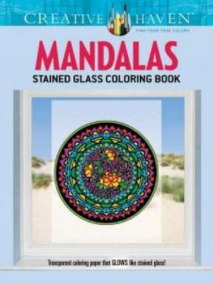 Picture of Creative Haven Mandalas Stained Glass Coloring Book
