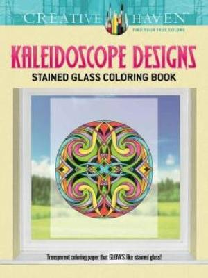 Picture of Creative Haven Kaleidoscope Designs Stained Glass Coloring Book