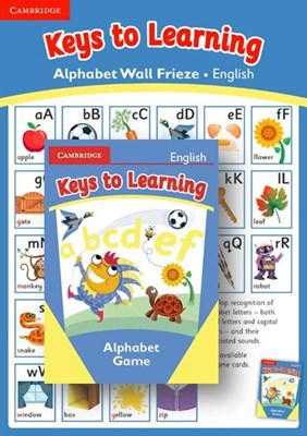 Picture of Keys to learning alphabet card game and wall frieze: Gr R - 3: Resource kit
