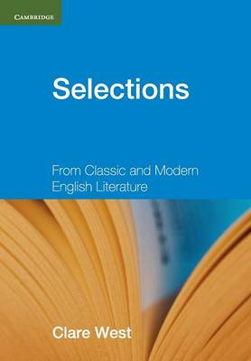 Picture of Selections Teacher's Book: From Classic and Modern English Literature