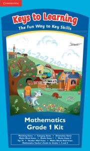 Picture of Keys to learning numeracy games: Gr 1: Resource kit