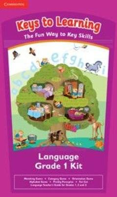 Picture of Keys to learning literacy games: Gr 1: Games set