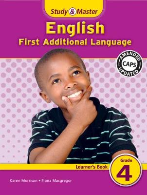 Picture of Study and Master English Grade 4 Learner's Book : First Additional Language