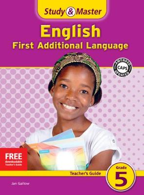 Picture of Study and Master English Grade 5 Teacher's File : First Additional Language