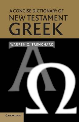 Picture of A Concise Dictionary of New Testament Greek