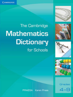Picture of CAPS Mathematics and Accounting Dictionaries: The Cambridge Mathematics Dictionary for Schools