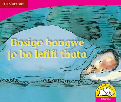 Picture of Bosigo bongwe jo bo lefifi thata