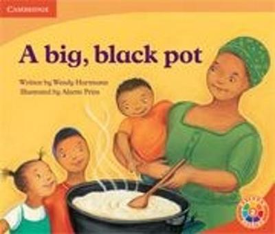 Picture of A Big, Black Pot : Food