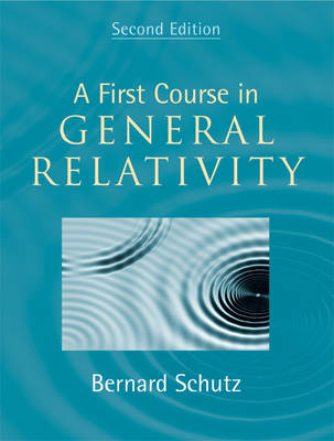 Picture of A First Course in General Relativity