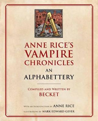 Picture of Anne Rice's Vampire Chronicles An Alphabettery