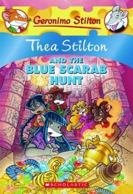 Thea Stilton and the Blue Scarab Hunt (Thea Stilton #11)