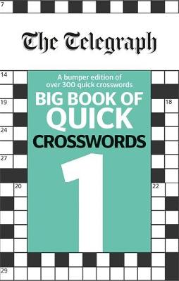 Picture of The Telegraph Big Book of Quick Crosswords 1