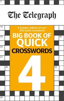 Picture of The Telegraph Big Book of Quick Crosswords 4