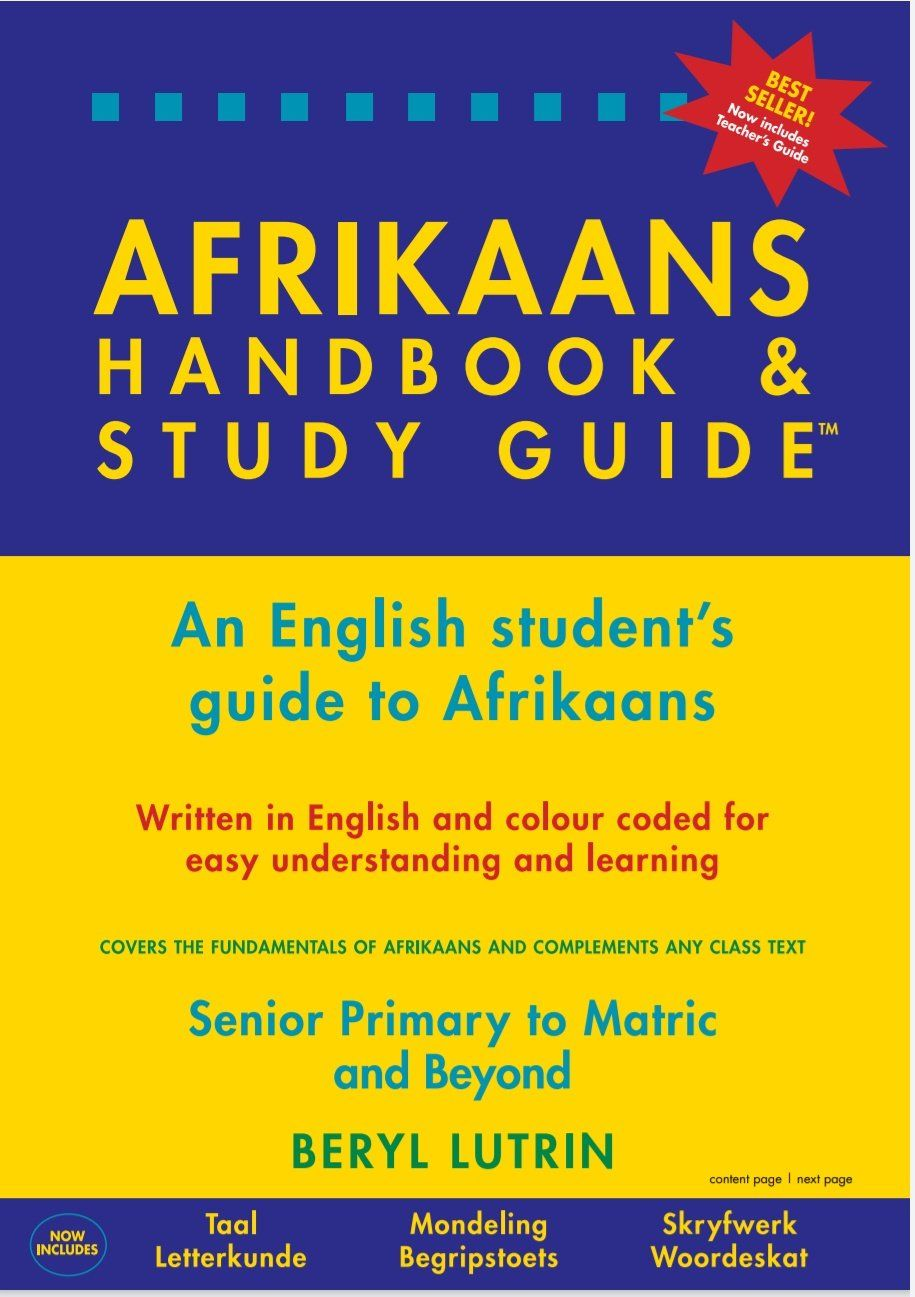 Picture of The Afrikaans handbook and study guide : An English student's guide to Afrikaans
