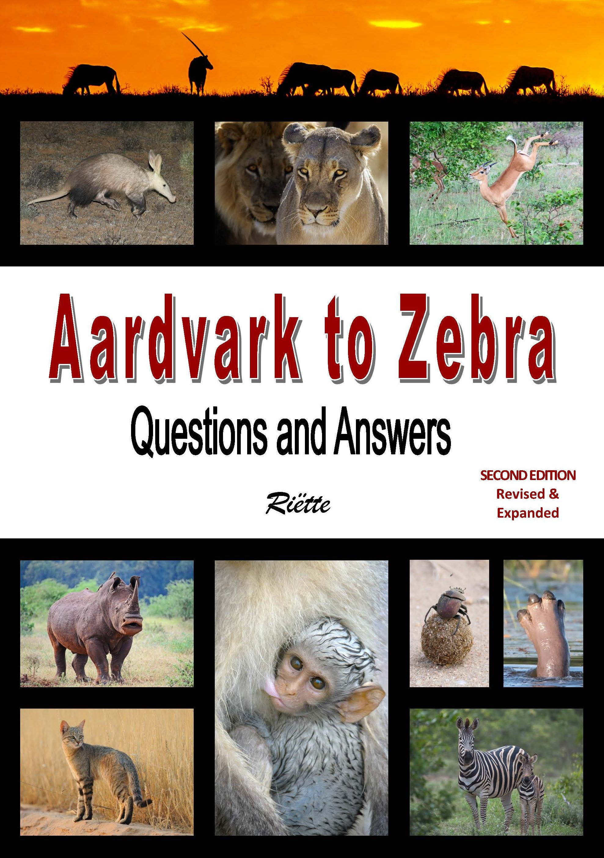 Picture of Aardvark to Zebra : Questions and Answers