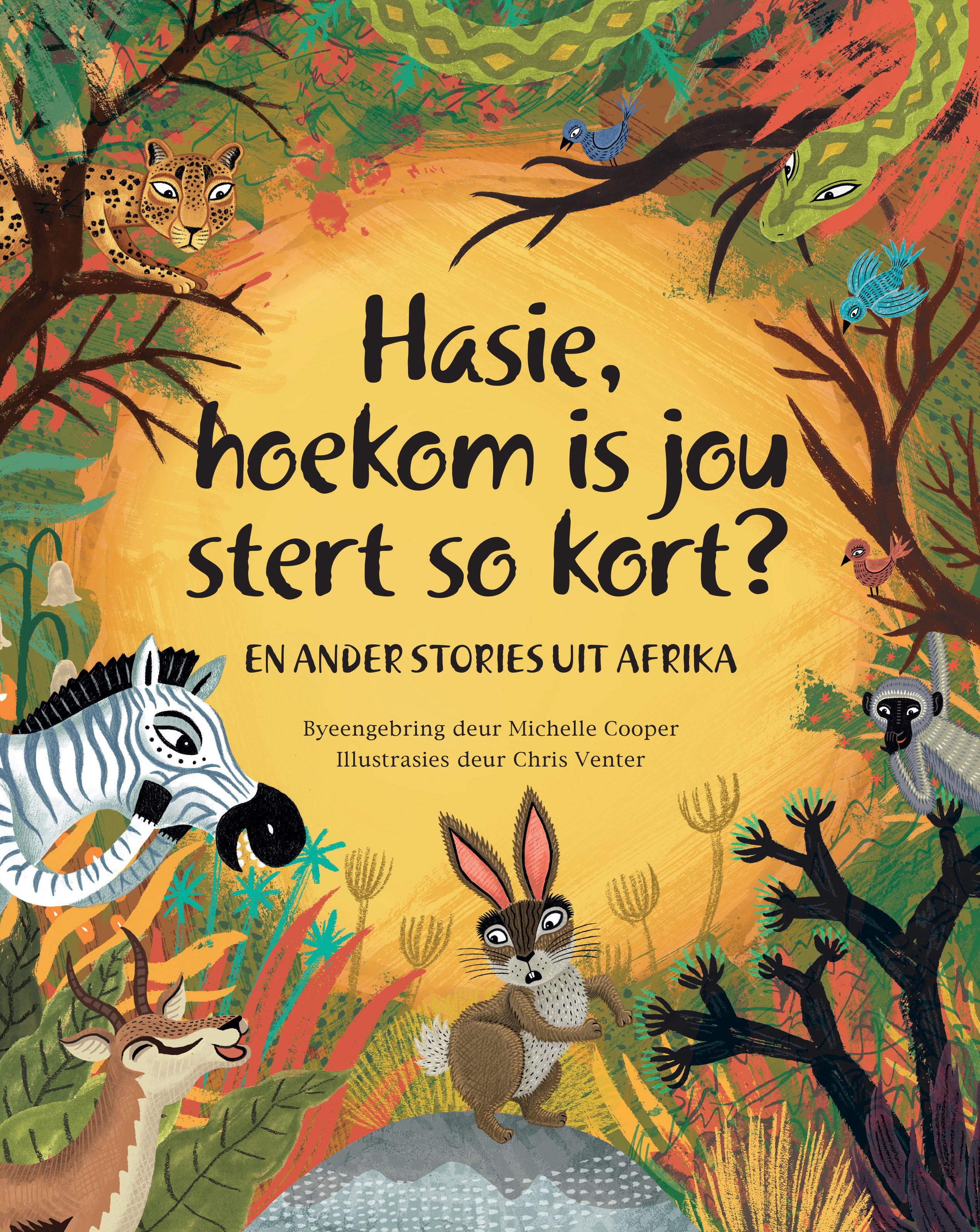 Picture of Hasie, Hoekom is jou Stert so Kort?