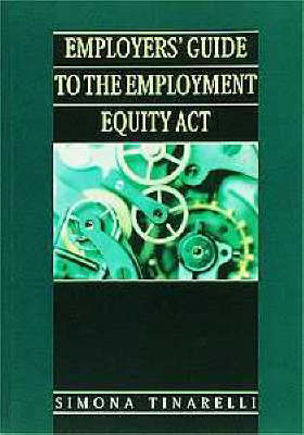 Picture of Employers guide to the employment equity act