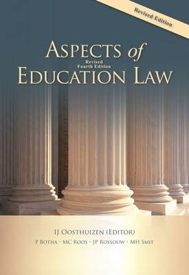 Picture of Aspects of education law