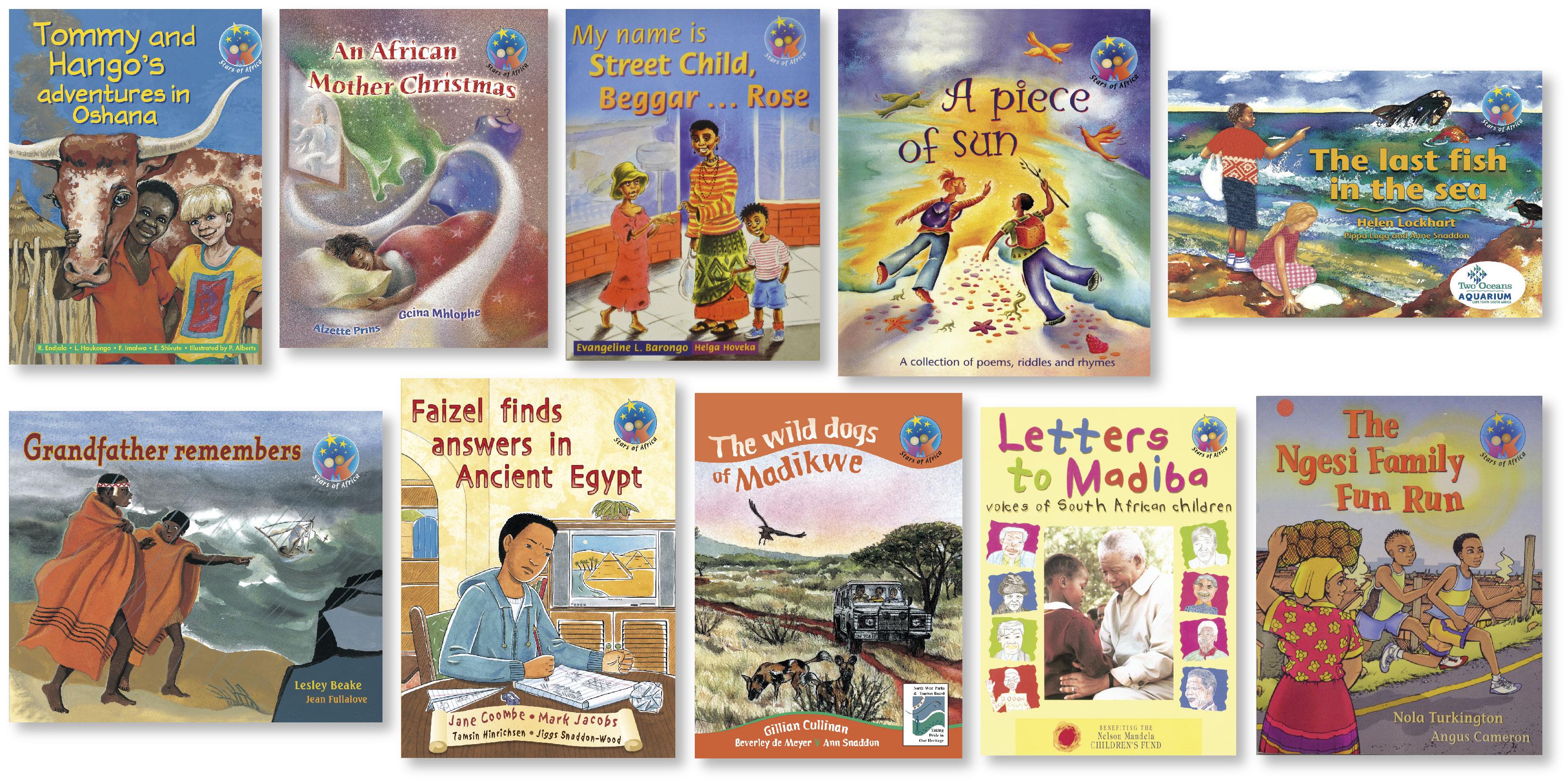 Picture of Stars of Africa Set 2 (set of 10 readers) (NCS): Grade 5: Reader
