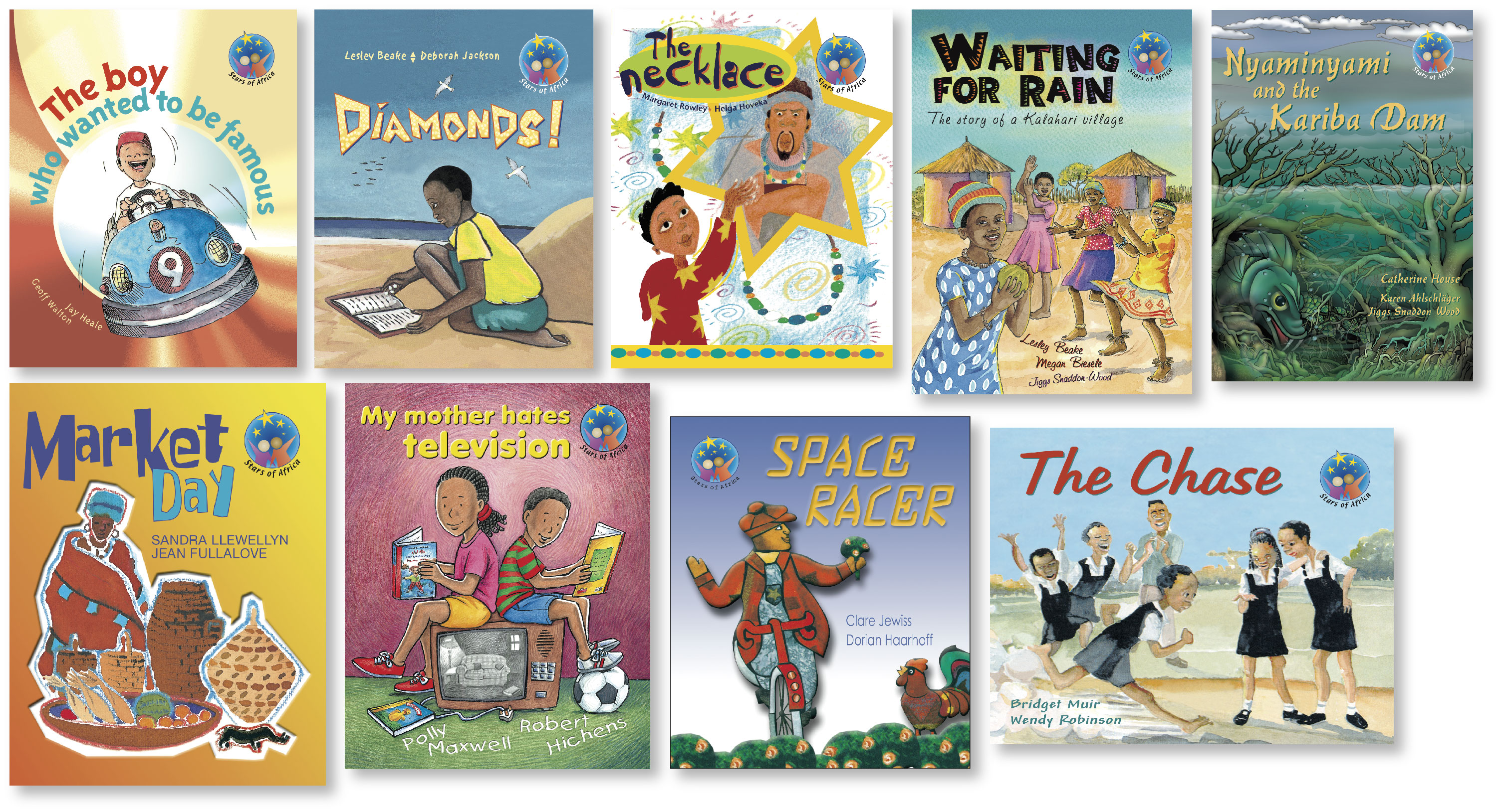 Picture of Stars of Africa Set 1 (set of 9 readers) (NCS): Grade 6: Reader