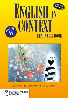 Picture of English in Context: English in Context: Grade 8: Learner's Book Gr 8: Learner's Book NCS