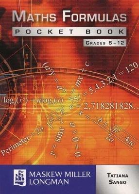 Picture of Maths formulas pocket book: Gr 8 - 12