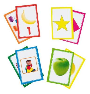 Picture of Three-in-One Integrated Learning Programme: Grade R: Kit component : Flash Cards (4 packs) (NCS)