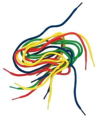 Picture of Three-in-One Integrated Learning Programme: Grade R: Kit component : Shoelace Thread (40) (NCS)