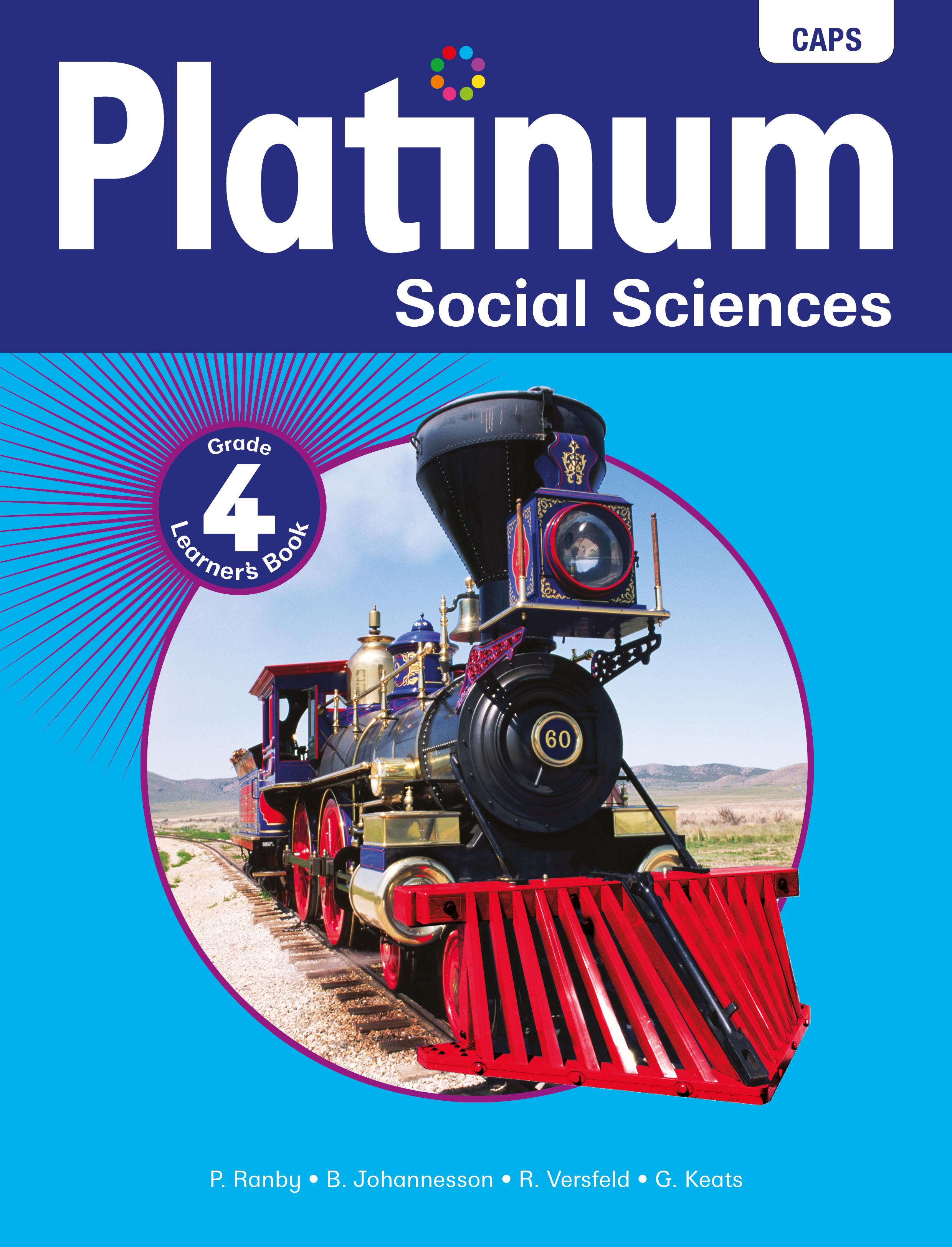 Picture of Platinum social sciences CAPS: Gr 4: Learner's book