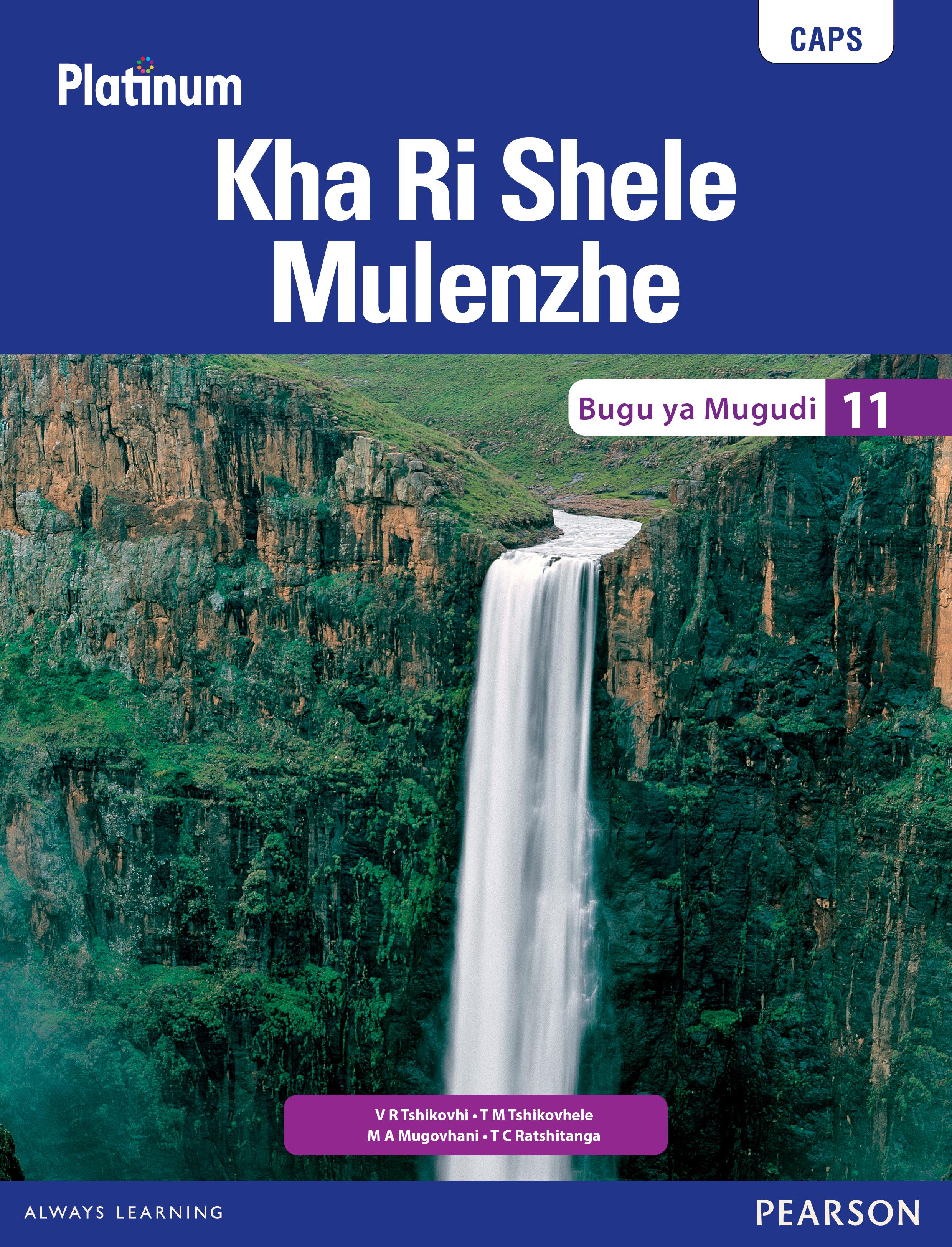 Picture of Platinum kha ri shele mulenzhe CAPS