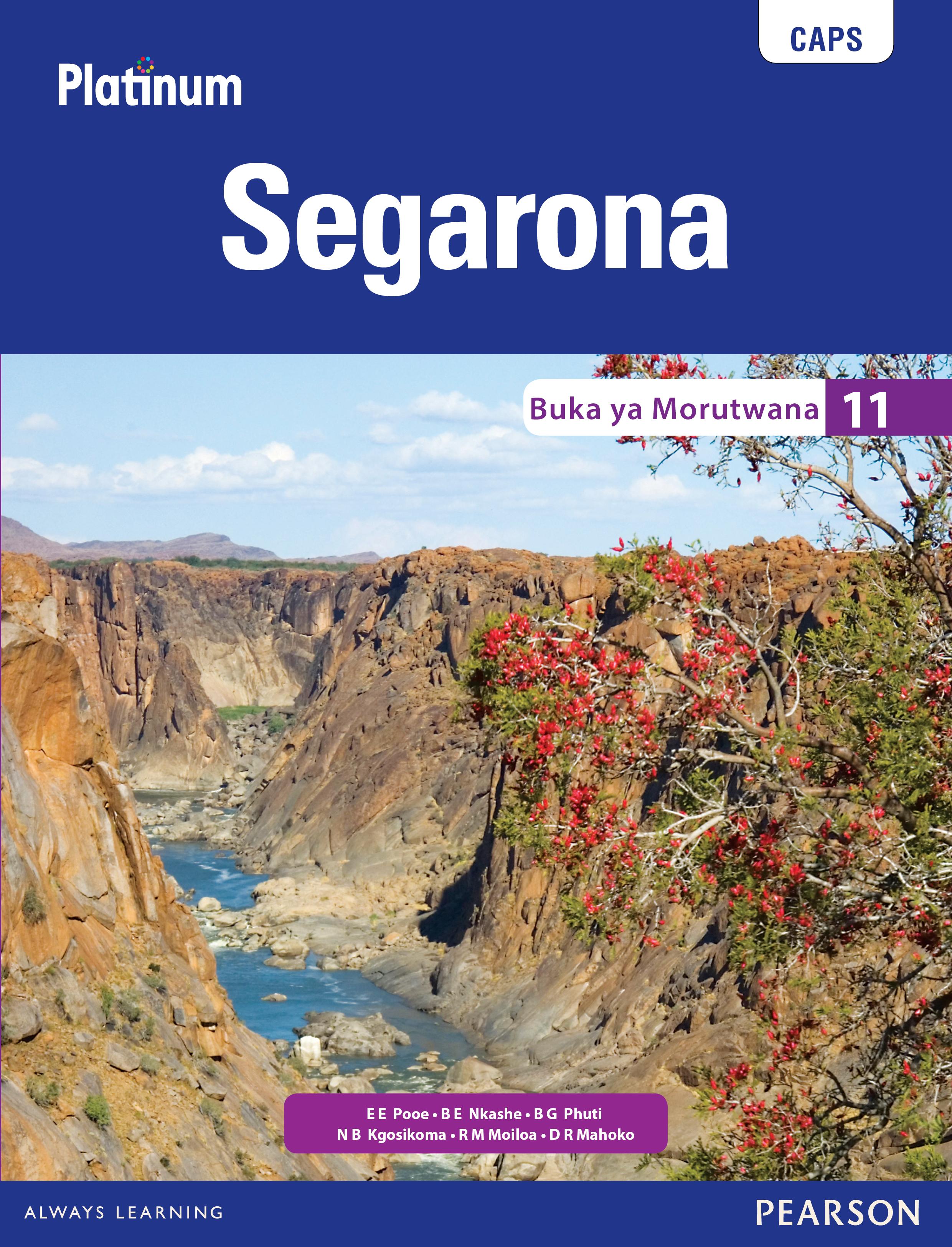 Picture of Platinum Segarona CAPS: Platinum Segarona: Grade 11: Learner's book Gr 11: Learner's Book
