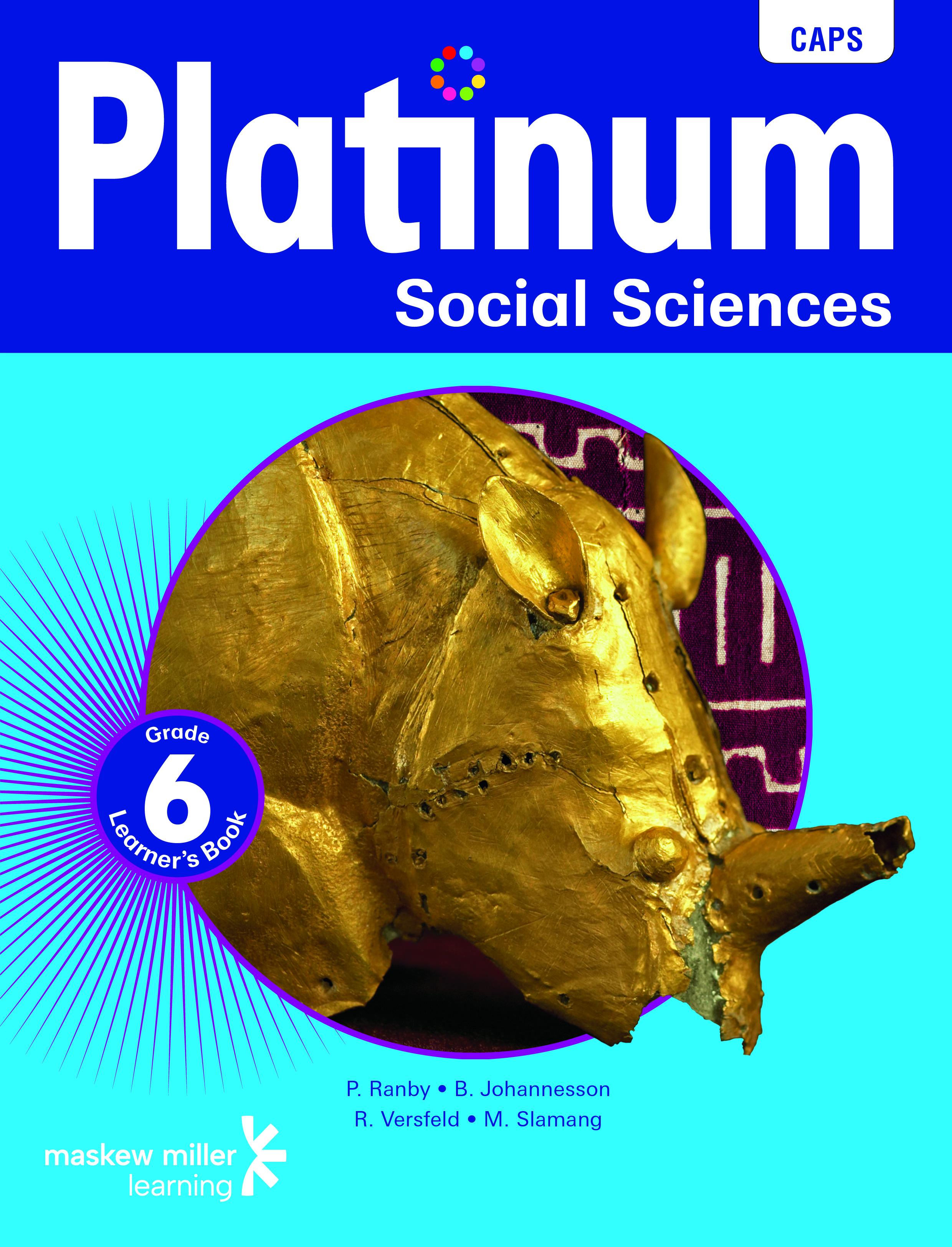 Picture of Platinum social sciences CAPS: Gr 6: Learner's book