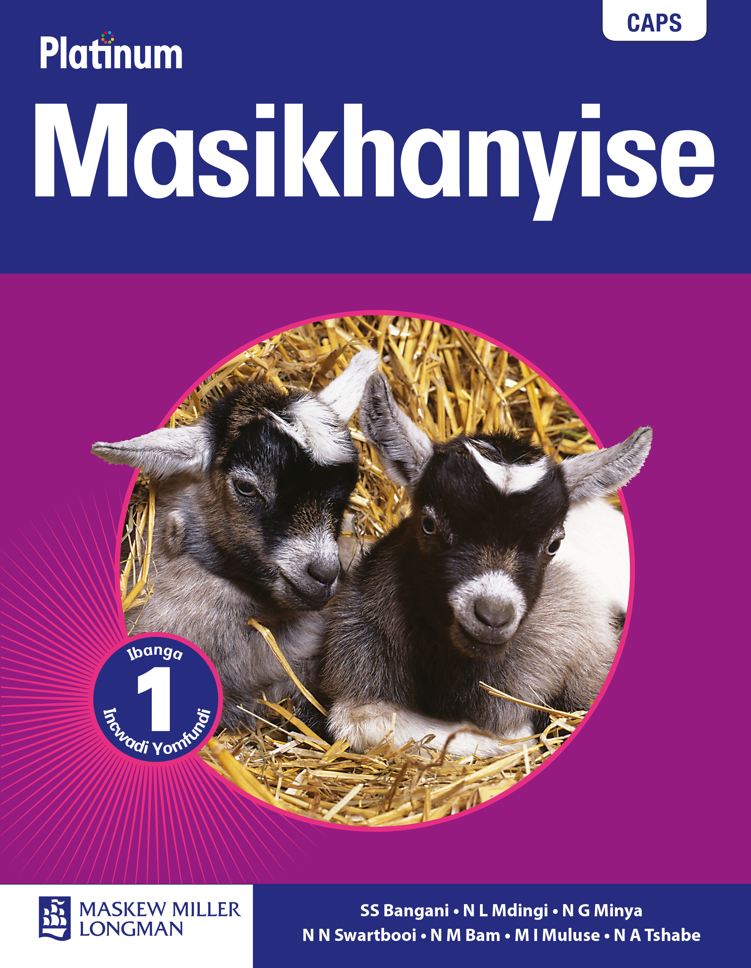Picture of Platinum masikhanyise: Gr 1: Learner's book : Home language