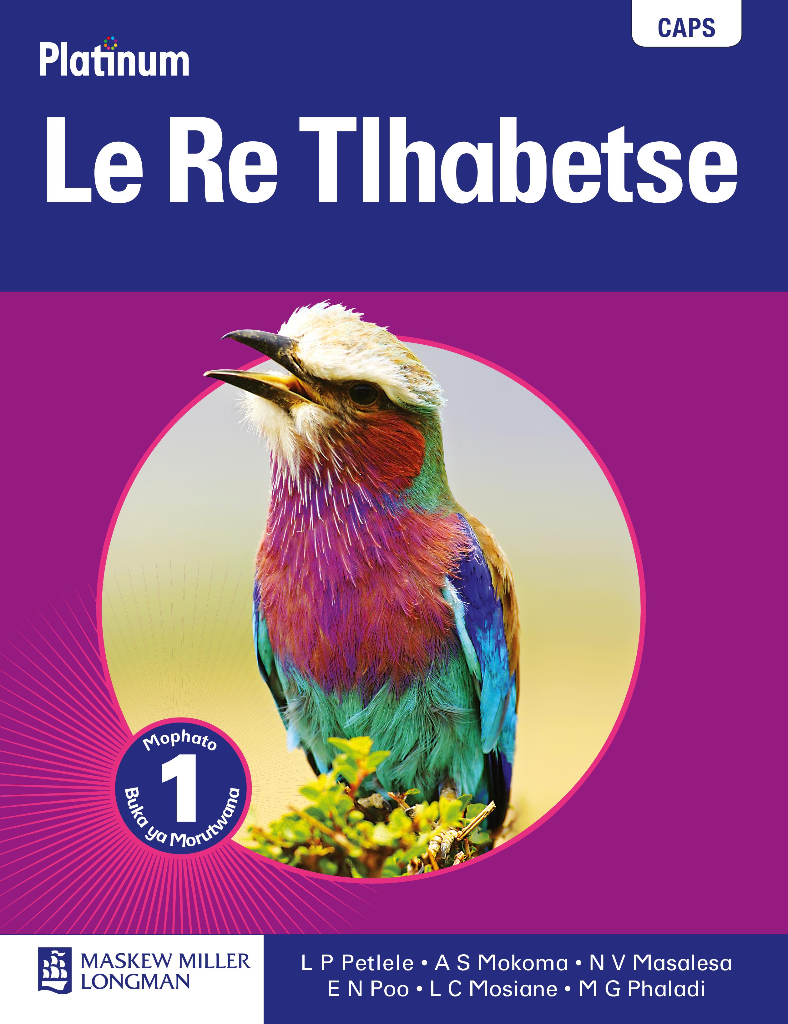 Picture of Platinum  le re tlhabetse: Gr 1: Learner's book : Home language