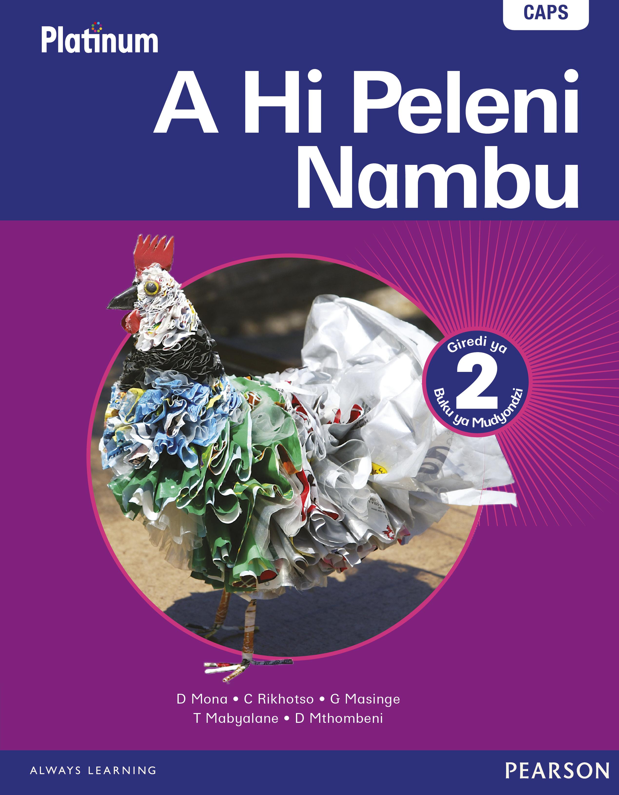Picture of Platinum a hi peleni nambu: Gr 2: Learner's book : Home language