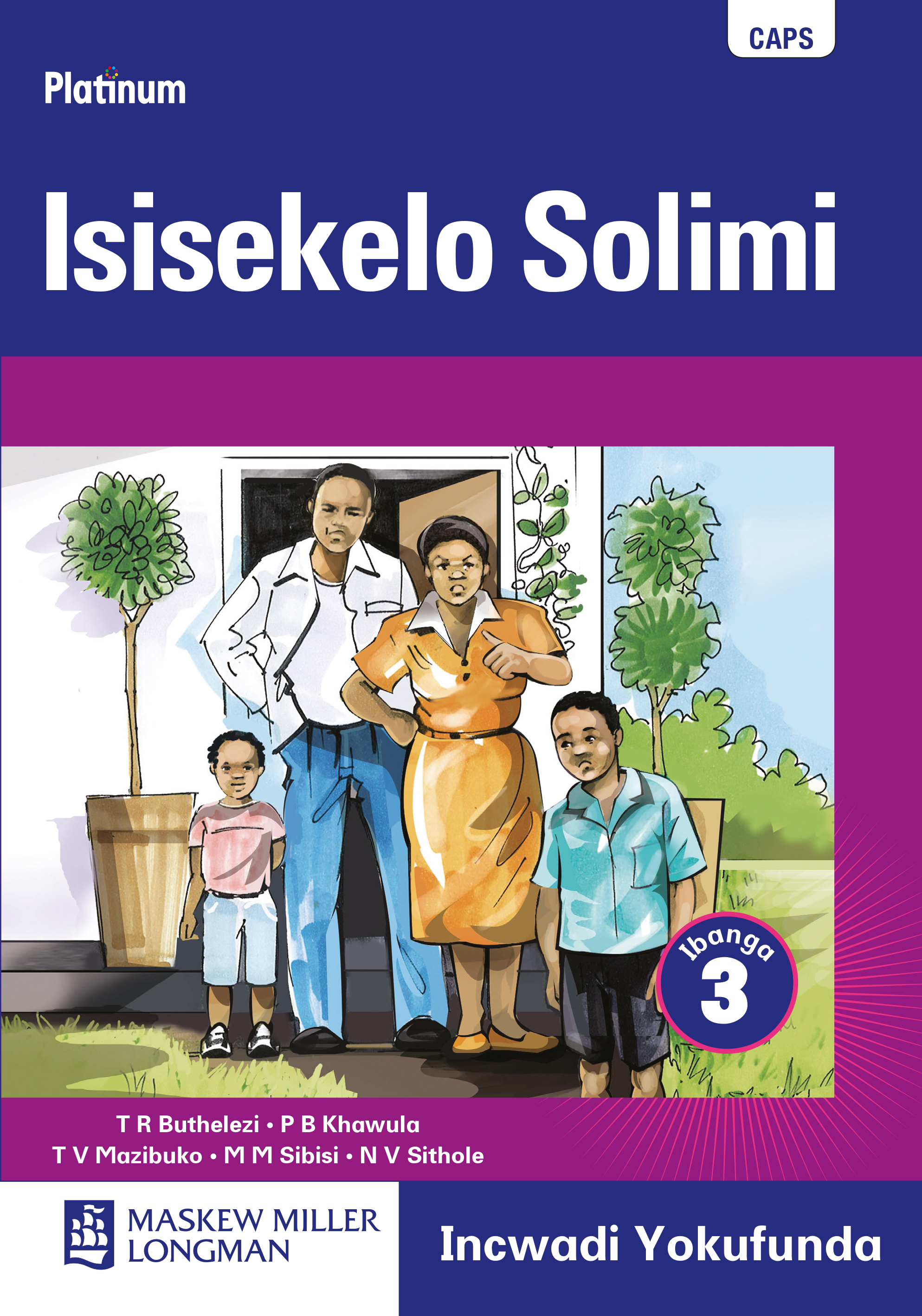 Picture of Platinum isisekelo solimi : Gr 3: Reader