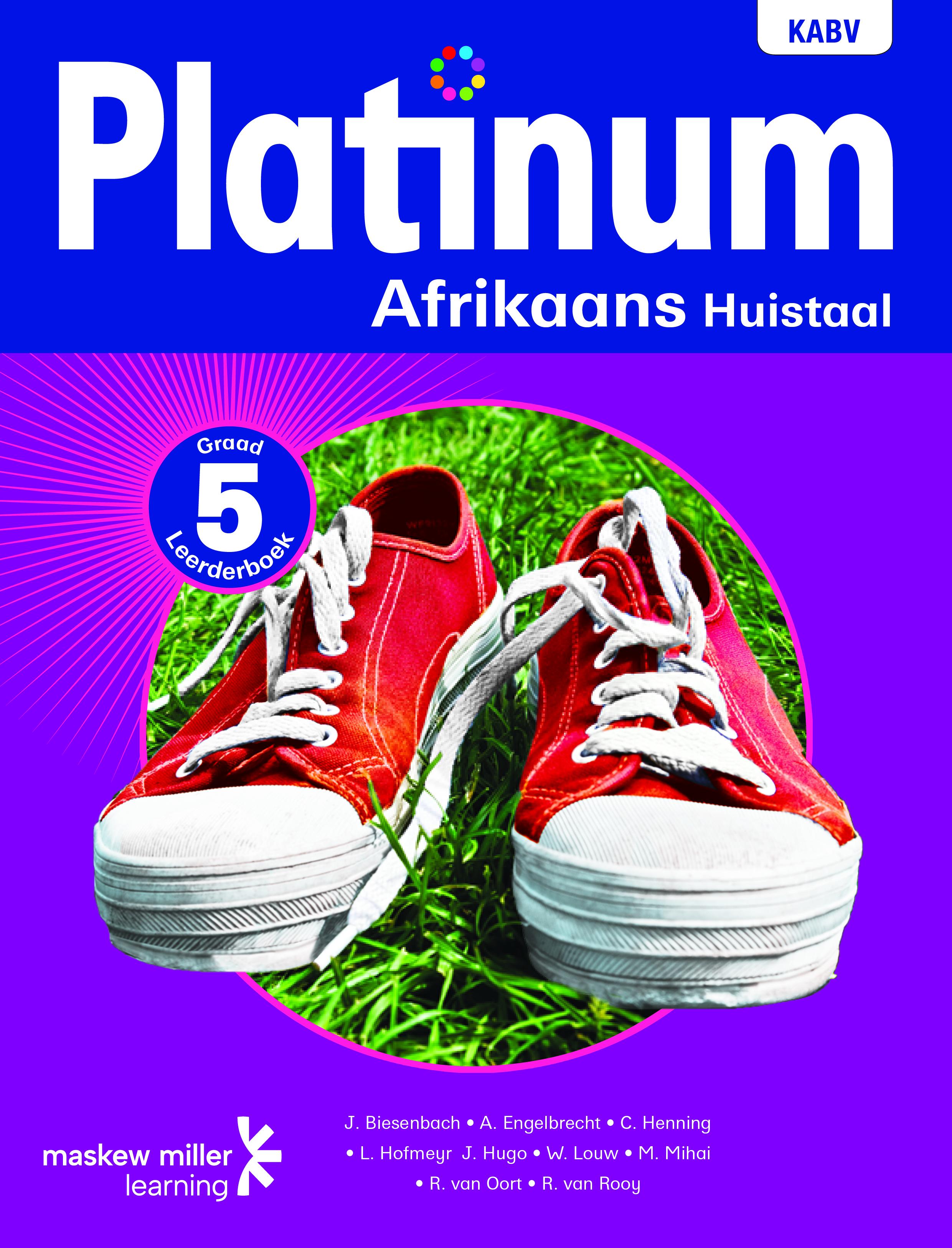 Picture of Platinum Afrikaans Huistaal NKABV - Graad 5 Leerderboek
