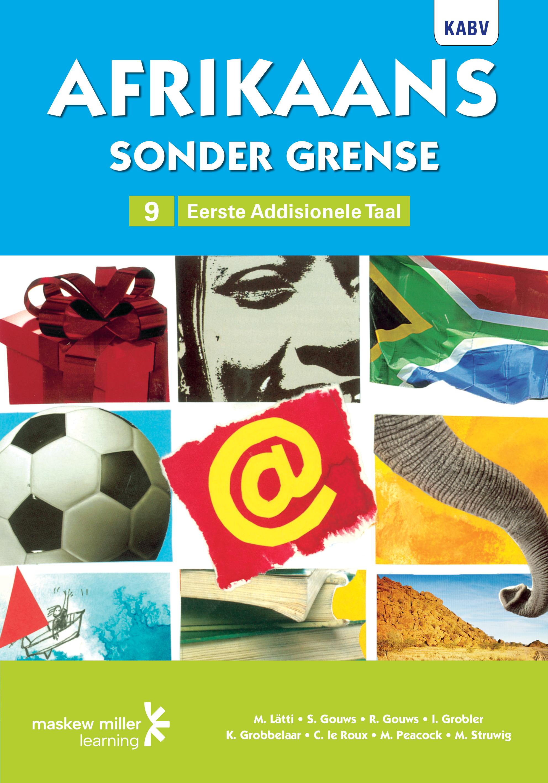 Picture of Afrikaans sonder grense eerste addisionele taal: Graad 9: Leerderboek