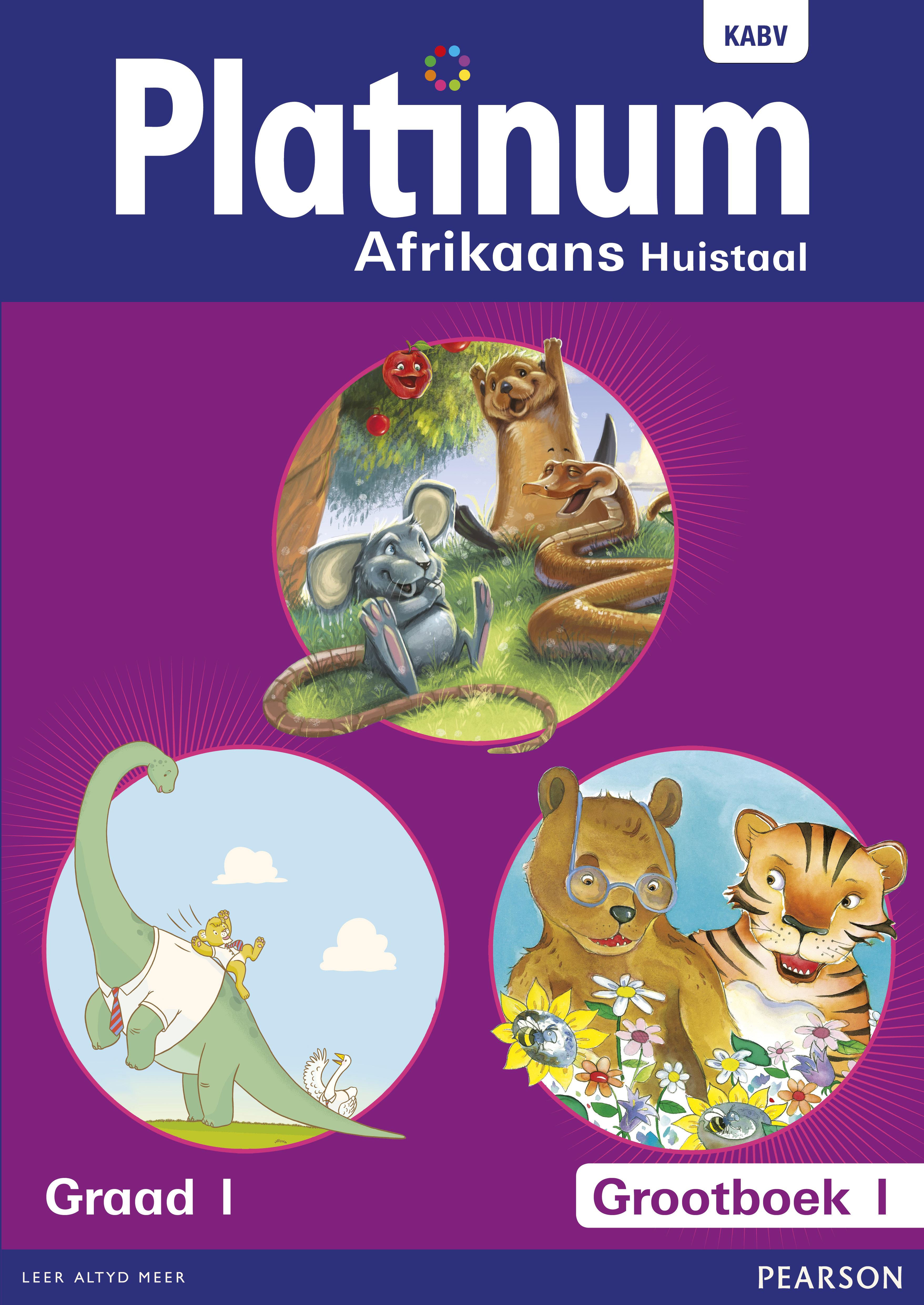Picture of Platinum Afrikaans : Gr 1: Grootboek 1 : Huistaal