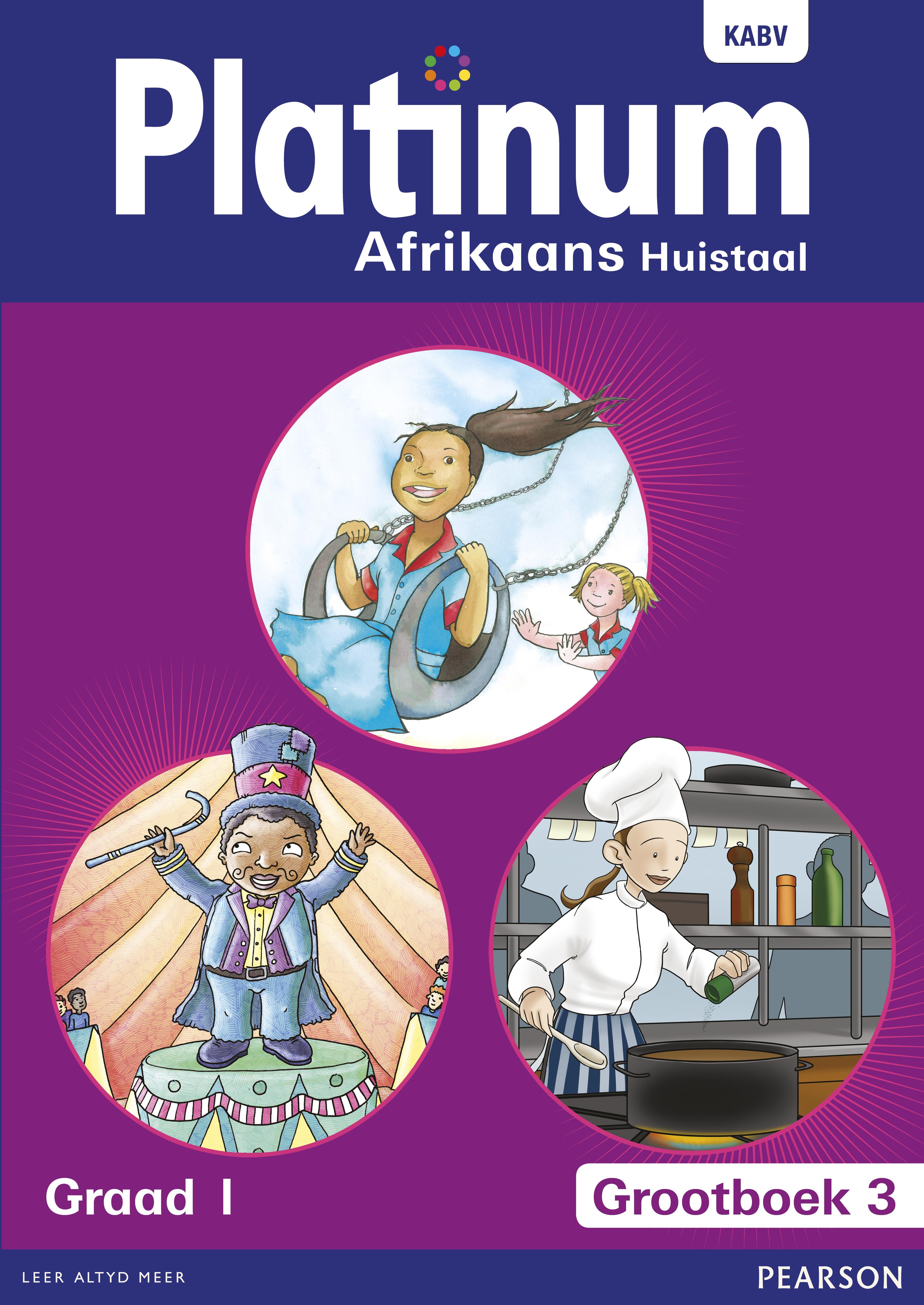 Picture of Platinum Afrikaans Huistaal : Grootboek 3 : Grade 1 : Huistaal