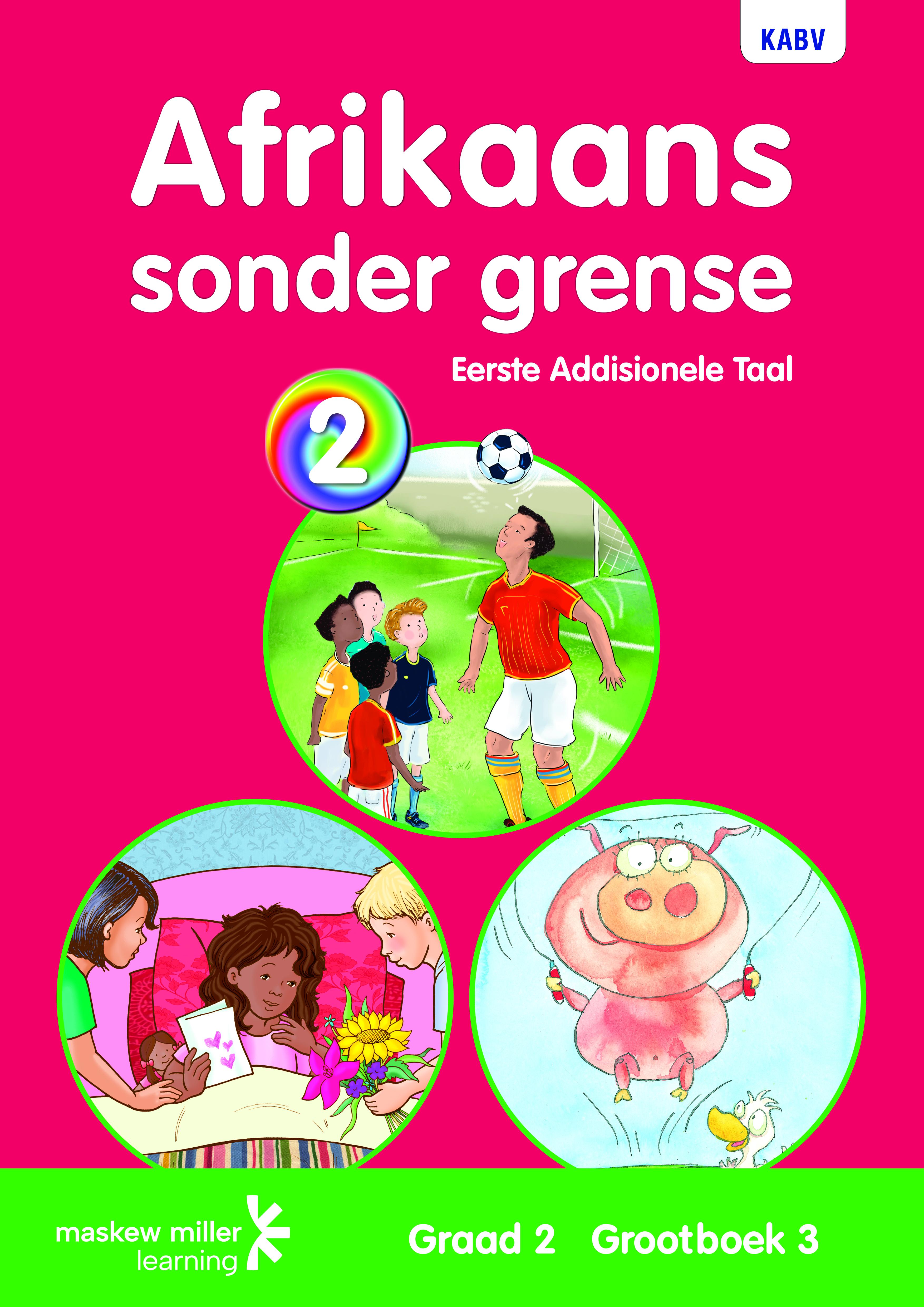 Picture of Afrikaans sonder grense eerste addisionele taal: Graad 2: Grootboek 3