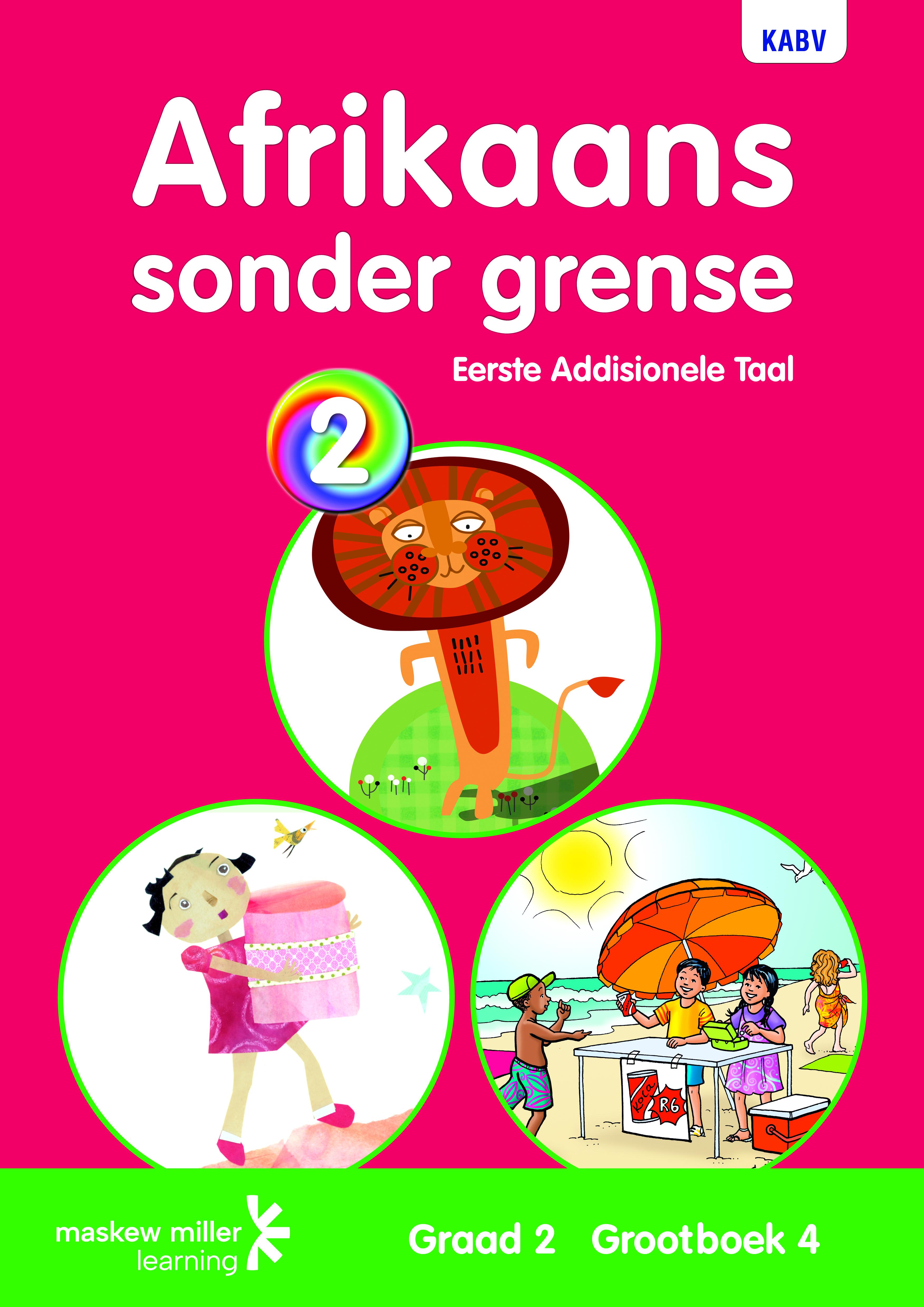 Picture of Afrikaans sonder grense: Gr 2: Grootboek 4 : Eerste addisionele taal