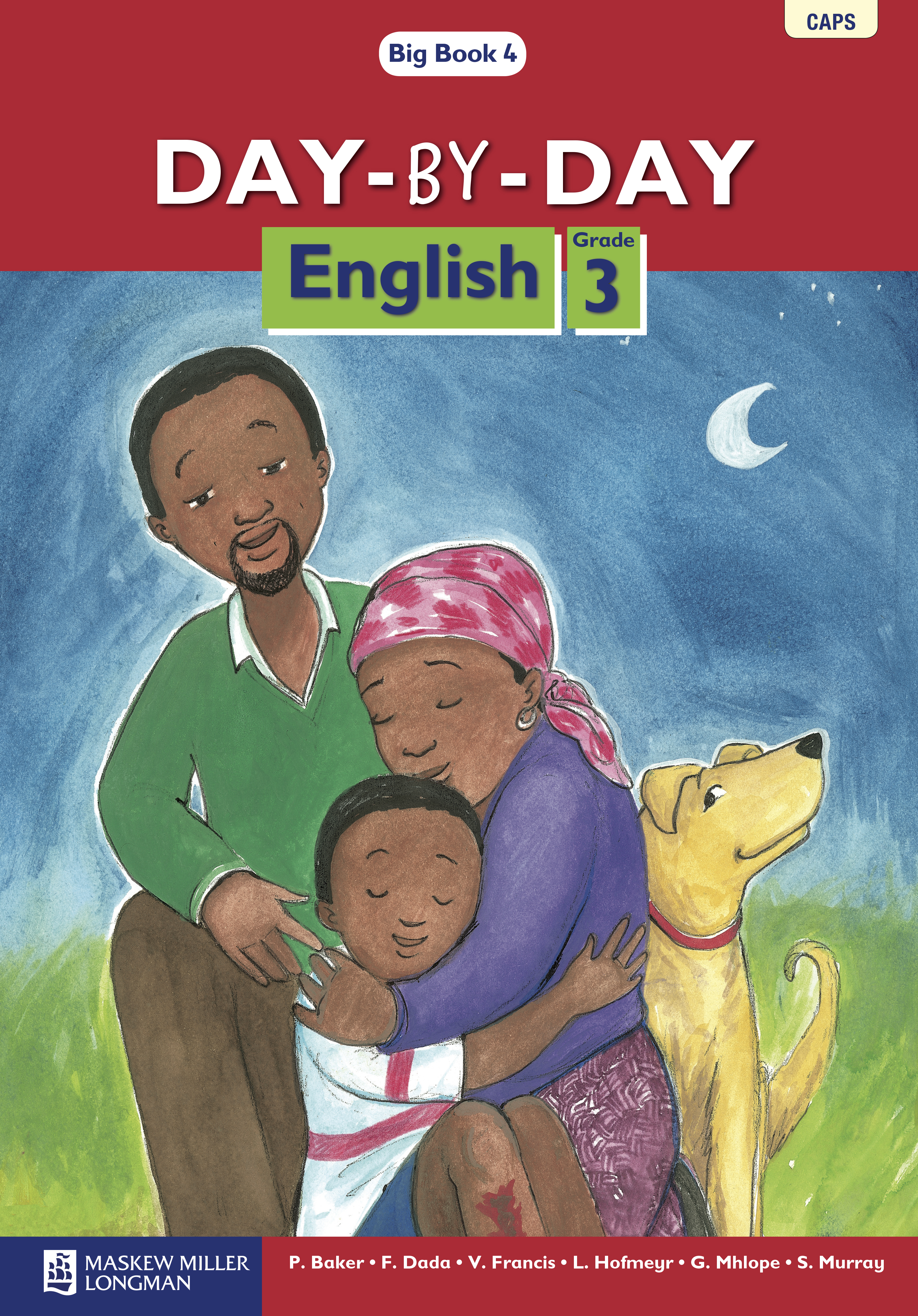Picture of Day-by-Day English : Grade 3 : Big Book 4 : First additional language