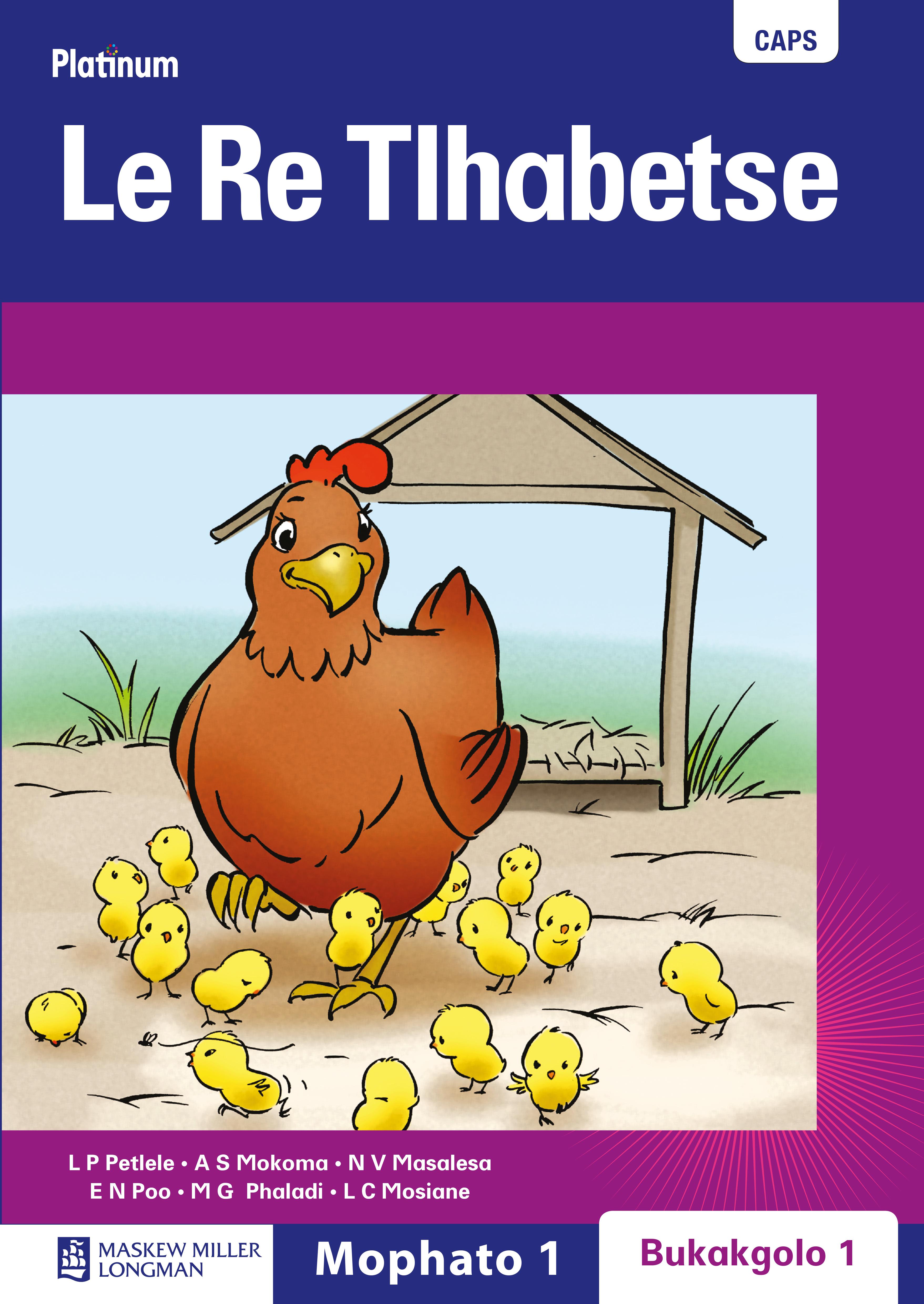 Picture of Platinum le re tlhabetse : Gr 1: Big book 1