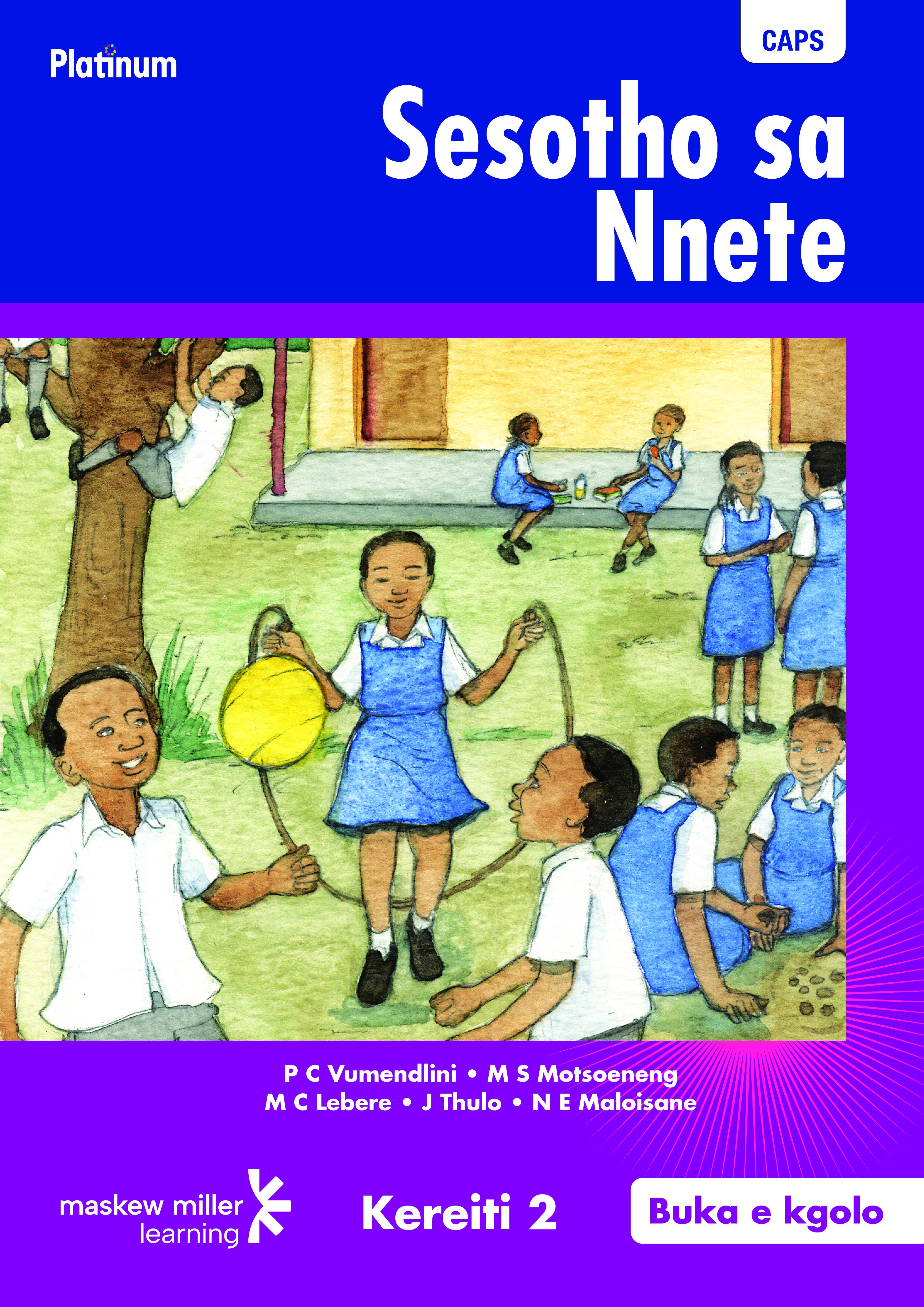 Picture of Platinum Sesotho Sa Nnete: Platinum Sesotho Sa Nnete: Kereiti ya 2: Grade 2: Big book Gr 2: Big Book
