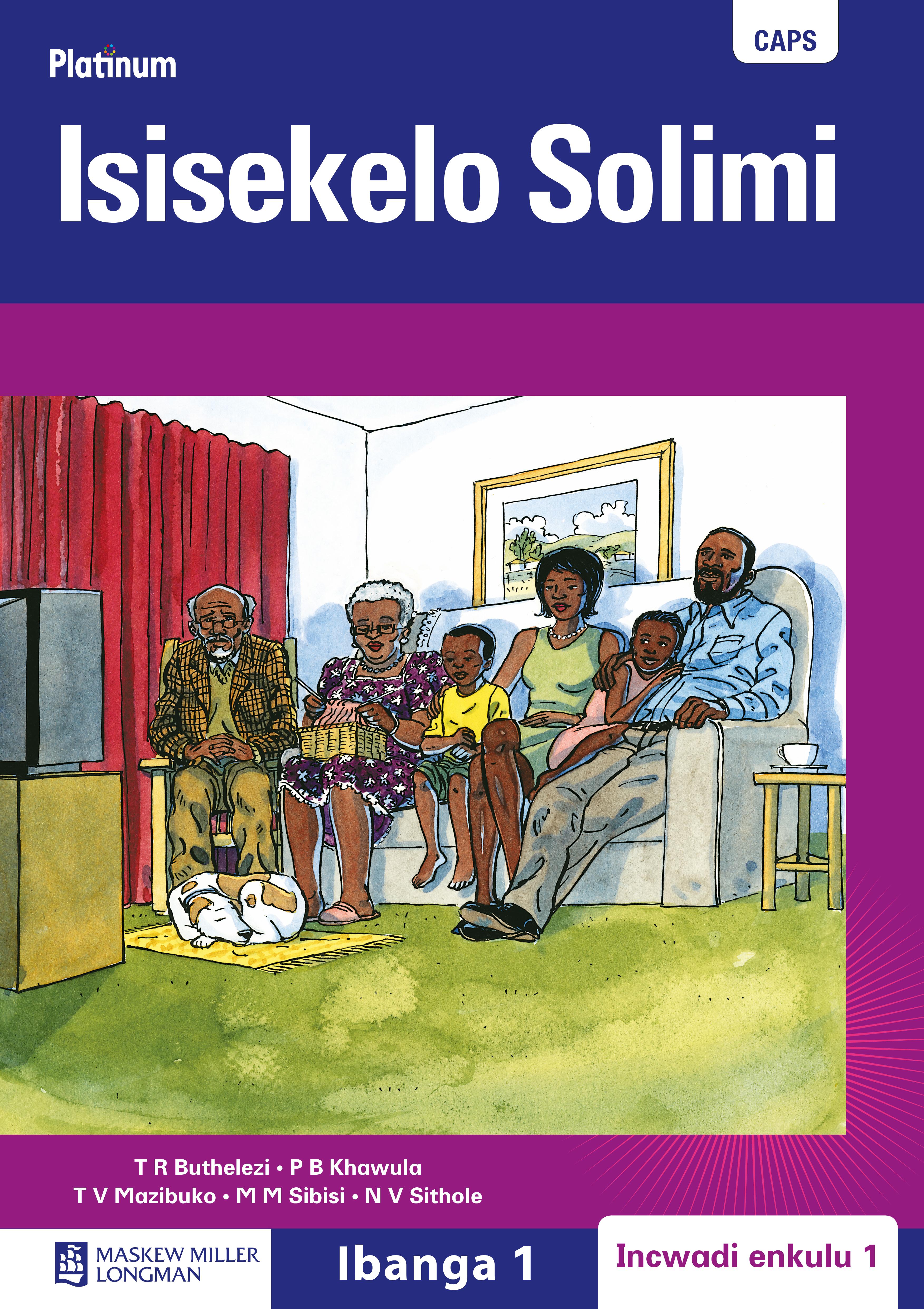Picture of Platinum isisekelo: Big book 1: Gr 1 : CAPS