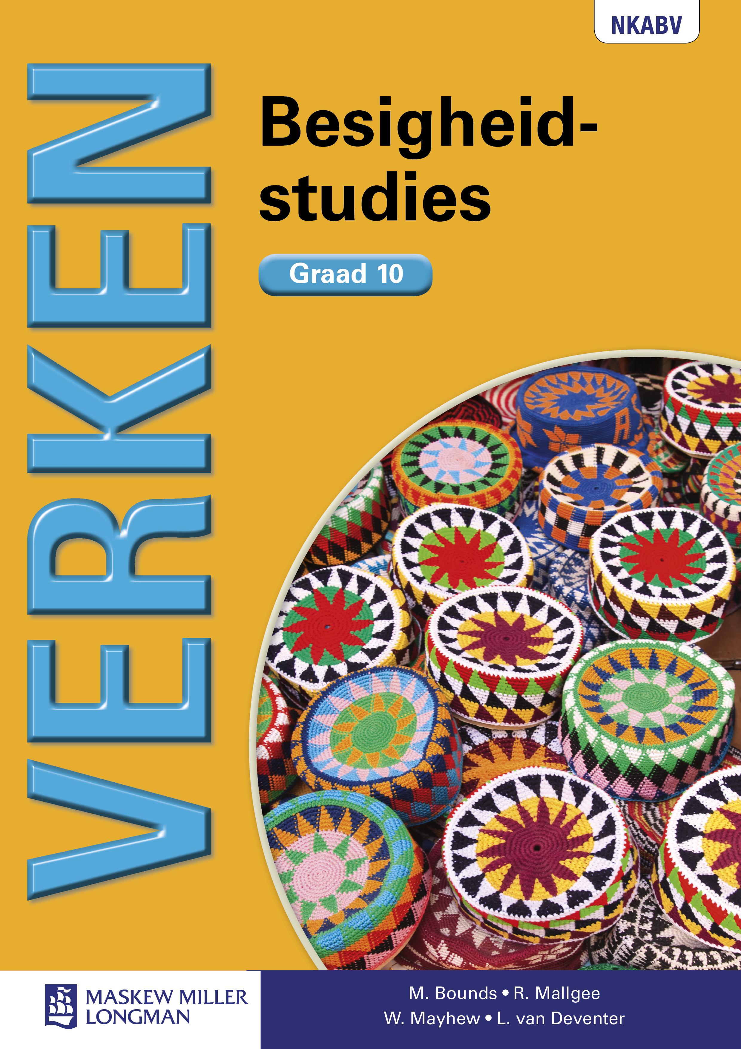 Picture of Verken besigheidstudies: Gr 10: Handboek